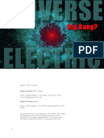 The Universe Electric - Big Bang? - Excerpt