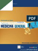 Indice Tematico Diplomado en Linea  de apoyo para el examen de certificacion y renovacion en medicina general.pdf