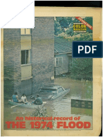 1974 Flood Newspaper