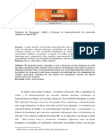 Credores de Vassouras - crédito e finanças no desenvolvimento da economia cafeeira no século XIX