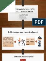 RECURSO DE CASACIÓN N° 1817 -2018 (1).pptx
