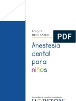 Spanish Dental Anesthesia for Children
