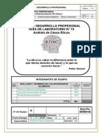 CASOS ETICOS  6C11A GRUPO 10