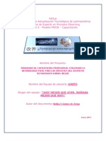 Proyecto Cap Docente Scribd