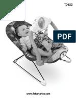 Manual Ocean Wonders Bouncer Fisher Price Babygear T0622pr 0720