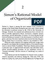 Simon - Bound Rationality