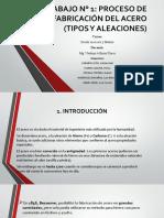 GRUPO 7- PROCESO DE FABRICACION DEL ACERO