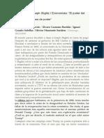 3. Poder de Mercado - Stiglitz - Globalizacion - Contexto Internacional
