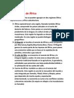 Las regiones de África.docx
