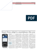 Smart Firms Adapt to Smart Phones