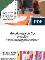 Metodologia de Co-creacion