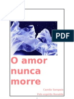 Apometria Romance - o Amor Nunca Morre