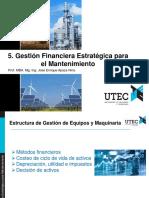 05.Gestión Financiera Estratégica Para El Mantenimiento