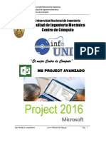 Manual de Project Avanzado