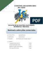 SEMINARIO SOBRE PILAS COMERCIALES