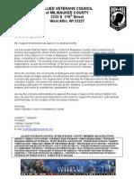 AlliedVetsDry Hootch Support Letter