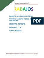 TRABAJOS DE DIDACTICA MATEMATICA
