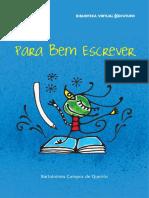 Para Bem Escrever – Bartolomeu Queirós.pdf