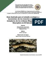Guía ilustrada para el estudio ecológico y taxonómico de los insectos acuáticos inmaduros de los órdenes Megaloptera y  Neuroptera en El Salvador