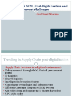 Trending in SCM Post-digitalisation