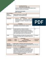 SECUENCIA DIDACTICA PARA RECESO ESCOLAR SEGUNDO AÑO DEL 20 AL 30 DE ABRIL DEL 2020