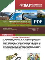 INSTRUMENTOS  DE RECOLECCION