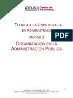 TUA-ADE Unidad 3