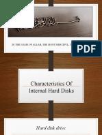 PRESENTATION OF HARD DISK