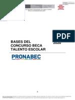 202005 - Bases del concurso - Beca Talento Escolar