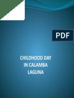 CHILDHOOD DAYS IN CALAMBA.pptx