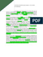 Microtextos planificacion calidad