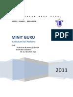 Minit Mesyuarat Guru 01 2011