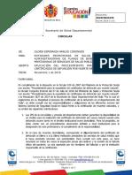 Circular - Aplicación del procedimiento para la expedición de defunción por muerte natural