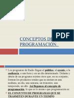 CONCEPTOS DE PROGRAMACIÓN.
