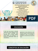conceptos de educacion