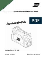 renegade-es-300-manual-usuario-español