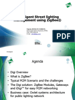 Intelligent Street lighting - Zigbee Digi intrnal