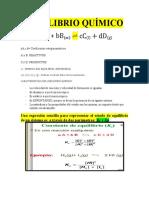 EQUILIBRIO QUÍMICO ch