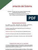 06 SIMULACIÓN DE SISTEMAS Representacion del Sistema