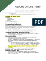Foster Civ Pro Outline
