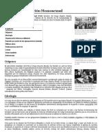 Frente de Liberación Homosexual - Wikipedia, la enciclopedia libre