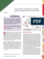 Recommandation Diabete