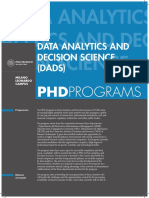 19 Data Analytics and Decision Sciences DADS