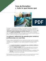 Manual y Guía de Esmaltes Cerámicos