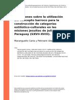 Maranguello Carla y Petrosini Alejo (2017). Reflexiones sobre la utilizacion