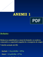 Anemii. Anemia feripriva. Anemia sideroblastica 2020