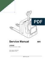 LPE 240 Service Manual