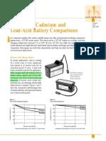 Nicad vs Lead Acid Batteries