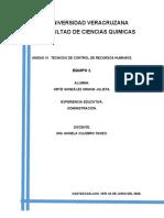 CONTROL DE RECURSOS H.