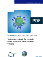 Status and outlook for biofuels, other alternative fuels and new vehicles, Exhaust emissions from alternative fuels and vehicle technologies